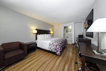 Deluxe Room, 1 King Bed, Accessible, Non Smoking (Roll In Shower)