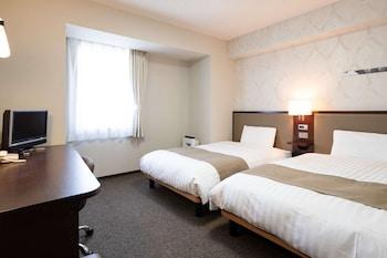 スタンダード ツインルーム シングルベッド 2 台 禁煙 コンフォート ホテル 富山