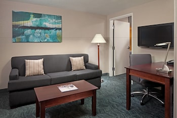 Guestroom at Springhill Suites Marriott Baltimore Downtown/Inner Harbor in Baltimore