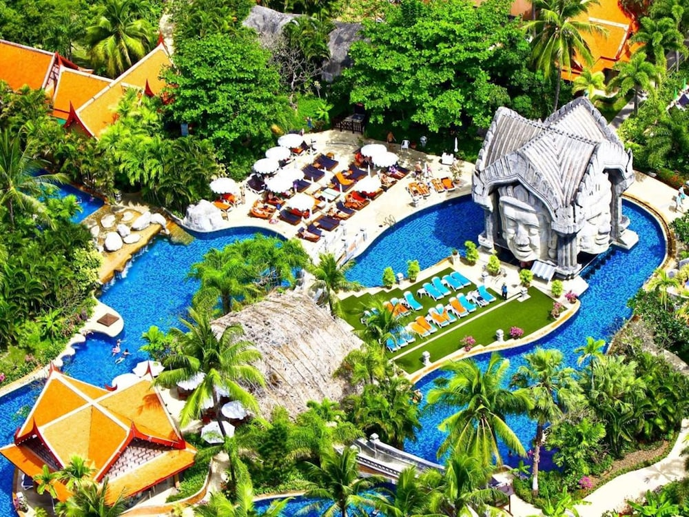 푸켓 오키드 리조트 & 스파(Phuket Orchid Resort and Spa) Hotel Image 80 - Aerial View