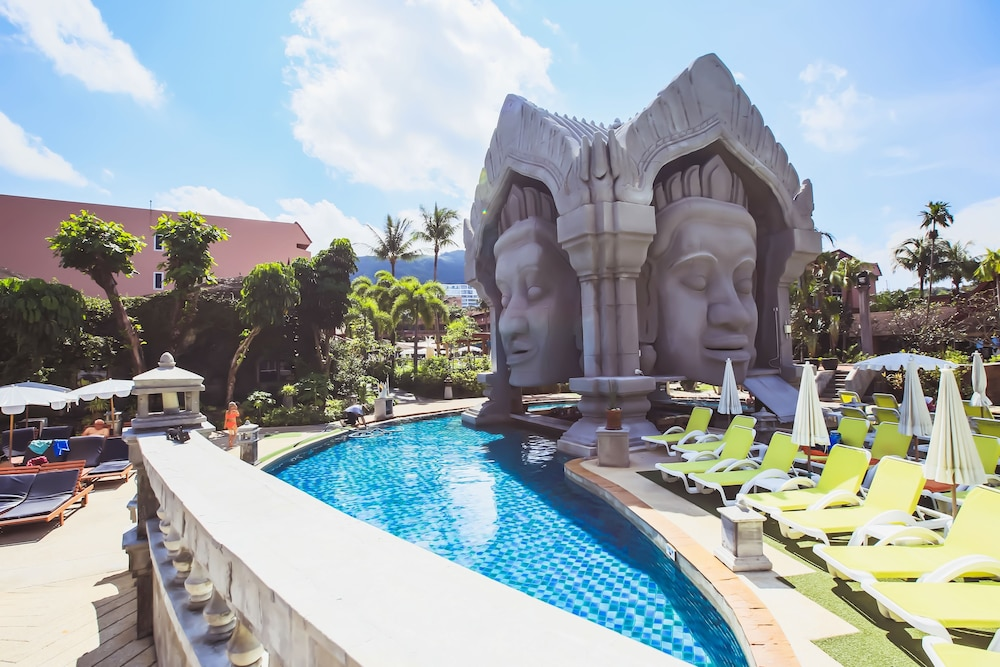 푸켓 오키드 리조트 & 스파(Phuket Orchid Resort and Spa) Hotel Image 2 - Pool
