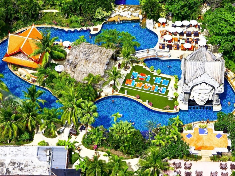 푸켓 오키드 리조트 & 스파(Phuket Orchid Resort and Spa) Hotel Image 81 - Aerial View