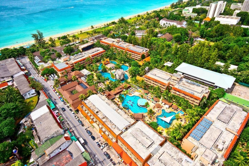 푸켓 오키드 리조트 & 스파(Phuket Orchid Resort and Spa) Hotel Image 82 - Aerial View