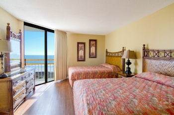 Guestroom at Ocean Creek Resort in Myrtle Beach