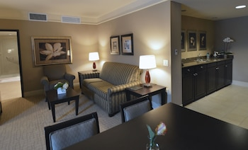 One king bed corner suite