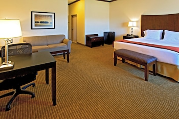 Deluxe Suite, 1 King Bed with Sofa bed, Accessible, Non Smoking (Hearing, Roll-In Shower)
