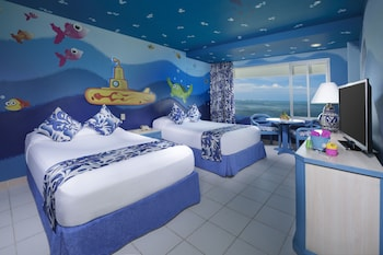Family Suite (Up to 2 kids eat and stay free)