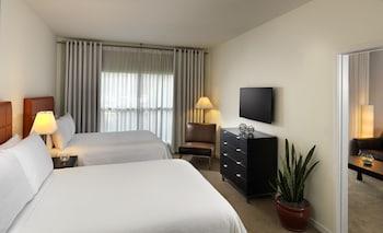 Guestroom at Melia Orlando Suite Hotel at Celebration in Celebration