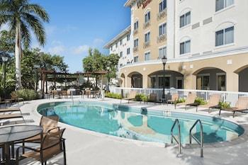 邁爾斯堡 I-75/墨西哥海灣鎮中心萬怡飯店 Courtyard by Marriott Fort Myers I-75/Gulf Coast Town Center
