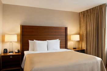 Guestroom at Homewood Suites by Hilton Baltimore Inner Harbor in Baltimore