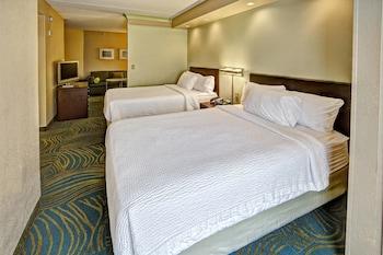 Guestroom at SpringHill Suites Marriott Norfolk Old Dominion University in Norfolk
