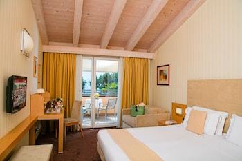 Comfort Tek Büyük Veya İki Ayrı Yataklı Oda, Balkon, Göl Manzaralı (top)