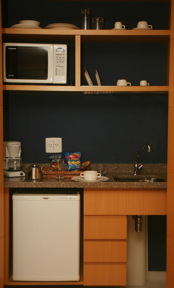 트란사메리카 이제쿠치비 자르징스(Transamérica Executive Jardins) Hotel Image 13 - In-Room Kitchenette