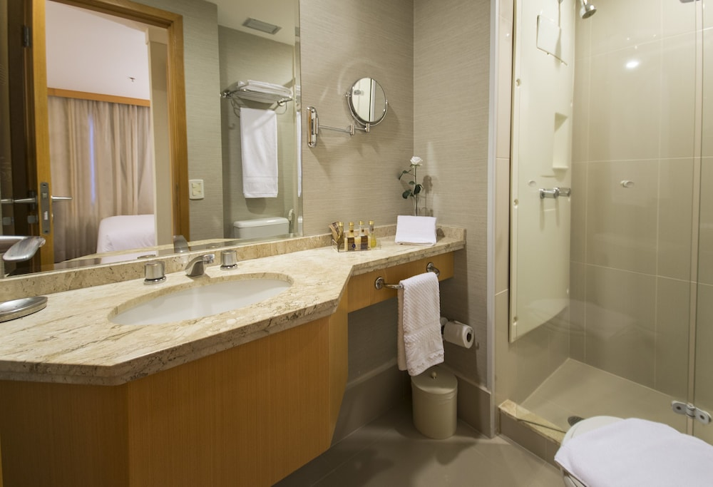 트란사메리카 이제쿠치비 자르징스(Transamérica Executive Jardins) Hotel Image 19 - Bathroom