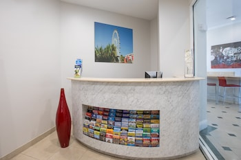 Concierge Desk at The Point Hotel & Suites in Orlando