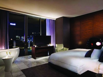 One Bedroom Suite - One King Bed, Sofa Bed, Balcony, Strip View