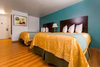 Standard Room, 2 Queen Beds, Refrigerator & Microwave (Pet Friendly)
