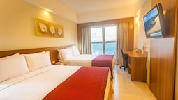Superior Room, 2 Double Beds, Sea View