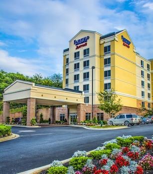 Hotel Front at Fairfield Inn by Marriott Washington D.C. in Washington