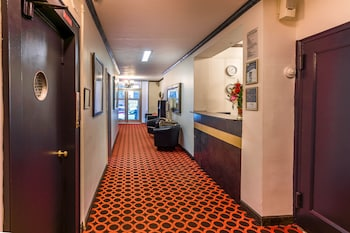 Reception at Royal Park Hotel and Hostel in New York