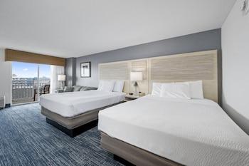 Standard Oda, Birden Çok Yatak, Balkon, Kısmi Deniz Manzarası