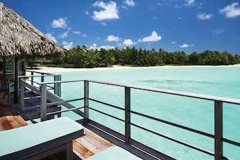 One Bedroom Beach View Over Water Bungalow Suite King Bed