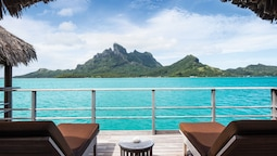 One Bedroom Mountain View Over Water Bungalow Suite King Bed