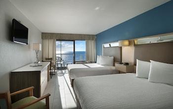 Standard Oda, 2 Çift Kişilik Yatak, Küçük Mutfak, Okyanusa Sıfır