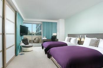 Fabulous Room, Room, 2 Double Beds, Balcony, Garden View