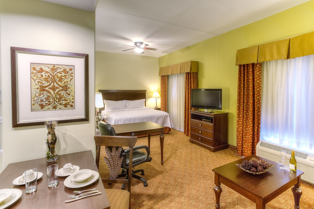 Photo of guest room at  Homewood Suites by Hilton McAllen in McAllen, Texas
