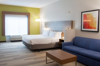 Suite, 1 King Bed with Sofa bed, Accessible (Communication, Accessible Tub)