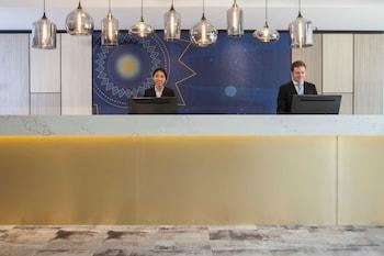 Reception at Metro Aspire Hotel, Sydney in Ultimo