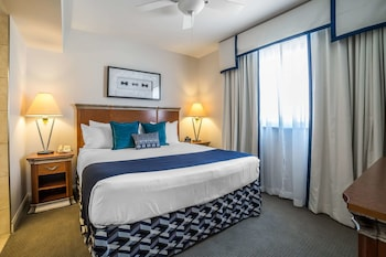 Deluxe Suite, 1 King Bed with Sofa bed, Accessible, Kitchen
