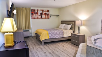 Room, 1 Queen Bed (Heart Shaped Jacuzzi)