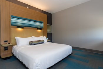 Guestroom at Aloft Charleston Airport & Convention Center in North Charleston