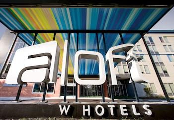 Hotel Front at Aloft Philadelphia Airport in Philadelphia