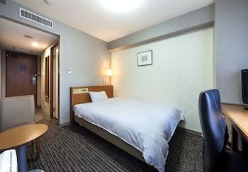 シングルルーム 禁煙 18平米 ベッド幅140cm シティビュー|ダイワロイネットホテル富山