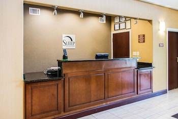 Lobby at Sleep Inn And Suites Pooler in Pooler