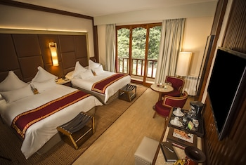 Deluxe Room, 2 Double Beds, Balcony, River View