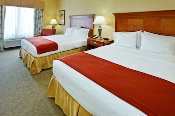 Guestroom at Holiday Inn Express Hotel & Suites DFW West - Hurst in Hurst
