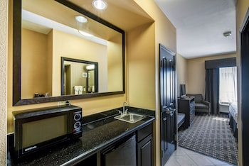 Suite, 1 King Bed, Accessible, Non Smoking (Mobility Roll-In Shower)