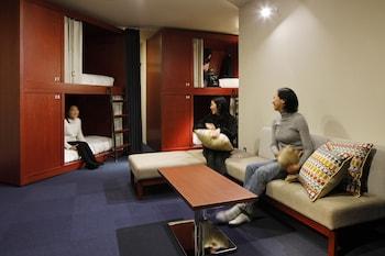共同ドミトリー 女性限定|2㎡|THE SHARE HOTELS HakoBA 函館