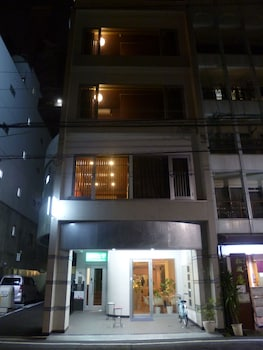 HIROSHIMA WABISABI HOSTEL Front of Property - Evening/Night