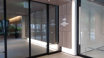 NIPPON SEINENKAN HOTEL Property Entrance