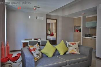 VALERO GRAND SUITES BY SWISS-BELHOTEL MAKATI Living Room