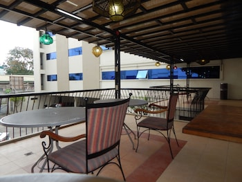 THE ALPA HOTEL AND RESTAURANT Terrace/Patio