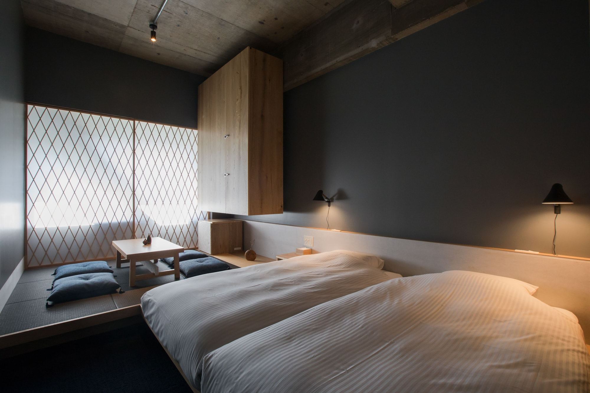 Japanese-Style Standard Room (2 twin beds and 2 futons)