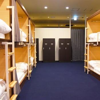 エコノミー 共同ドミトリー 男性限定 1 階|41㎡|HOTEL THE GATE KUMAMOTO