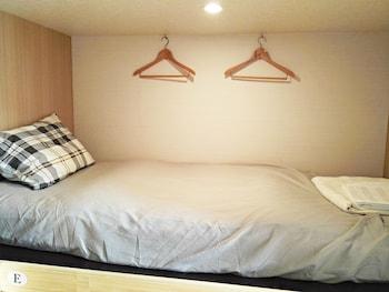 204室女性専用エコノミー シングル ルーム 6 ベッドルーム 3㎡ 熱海温泉 GUEST HOUSE 惠