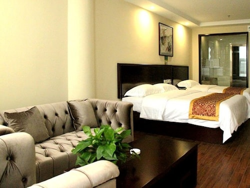 . GreenTree Inn HuaiAn University Town Science and Technology Avenue Hotel